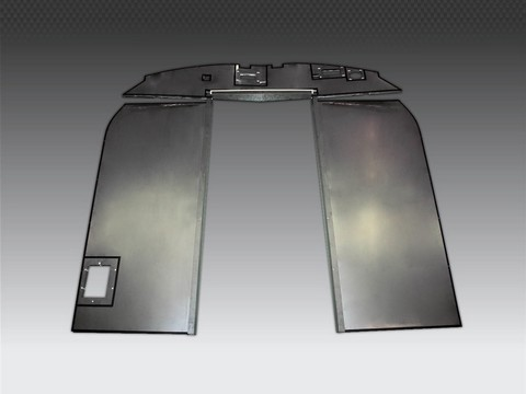 high-temperature-insulation-fire-screens-fire-heatshield-military-vehicles-engine-military-vehicles