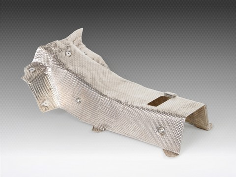 high-temperature-insulation-racing-cars--exhaust-heat-shield-insulation--acoustic-Catalytic-Converters-Collectors-rally